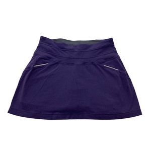 Athleta Purple Gusset Coolmax Relay Skort
